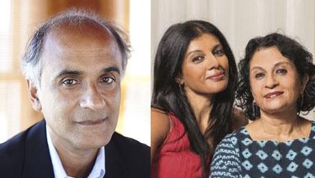 Pico Iyer and Ranee and Aparna Ramaswamy updates