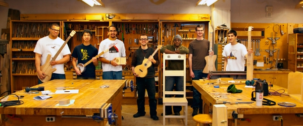 Woodworking Students at the Hop