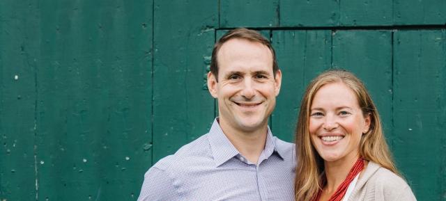 Melissa Roth and Dan Richards