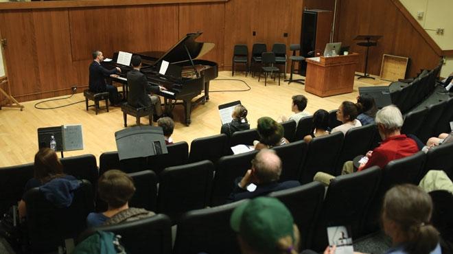 Venues and Spaces Faulkner Recital Hall