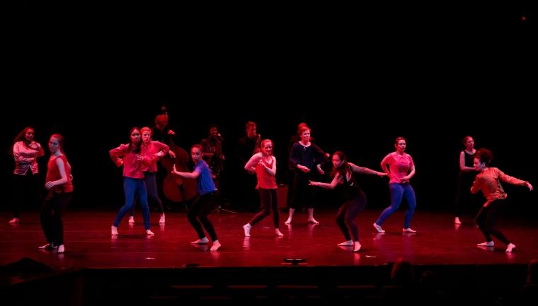 Dartmouth Dance Ensemble Spring 2020 at the Hop