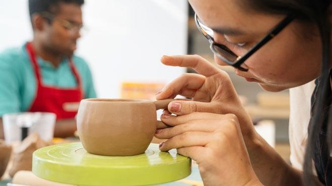 Ceramics Studio at the Hop